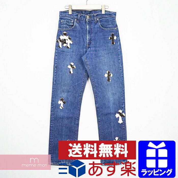 メンズファッション, ズボン・パンツ CHROME HEARTS Denim Pants 505 31 210125-Bme04
