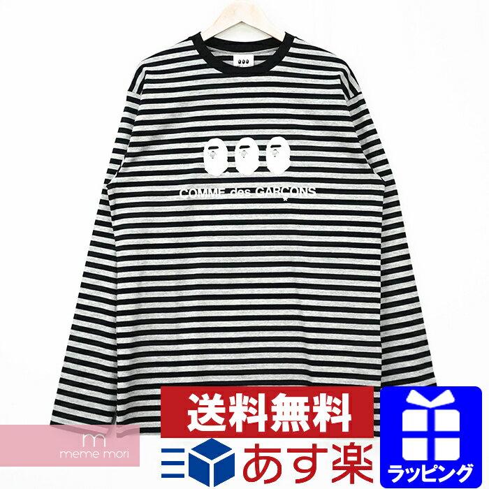 トップス, Tシャツ・カットソー A BATHING APECOMME des GARCONS 2020AW LS Tee T XL210211
