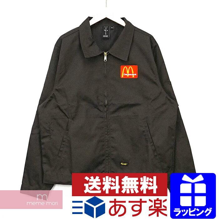 メンズファッション, コート・ジャケット Travis Scott Cactus JackMcDonalds 2020AW Billions Served Work Jacket XL210220me04