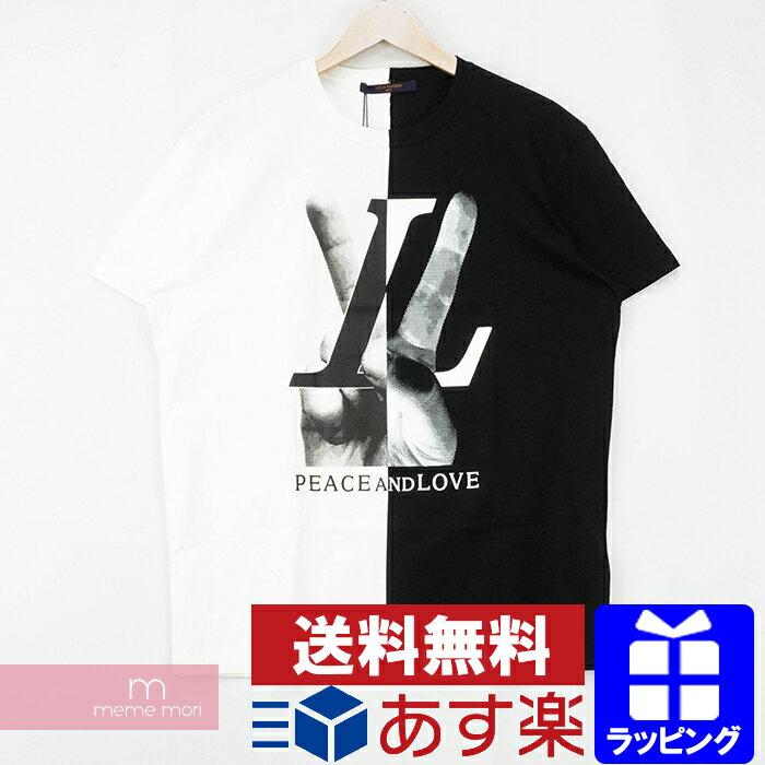 トップス, Tシャツ・カットソー LOUIS VUITTON 2018AW Peace and Love Tee RM182 FMB HFY89W T XS210411me04