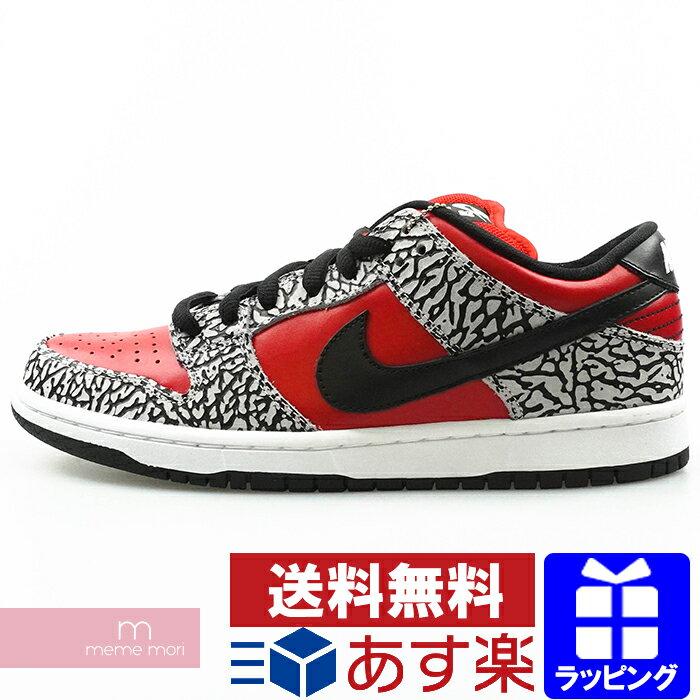 メンズ靴, スニーカー SupremeNIKE SB 2012SS DUNK LOW PREMIUM SB Red Cement 313170-600 SB US9(27cm) 210503me04