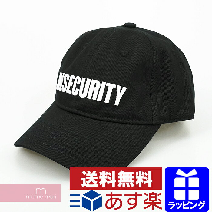 メンズ帽子, キャップ VETEMENTS 2021SS Insecurity Cap UE51CA100B 210507me04