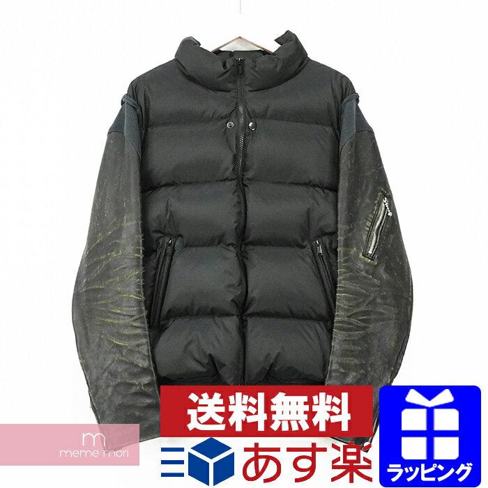 メンズファッション, コート・ジャケット SALEUNDERCOVER 2021 30th Anniversary Leather Sleeve Down Jacket UCZ9204 30 2 210508me04me05