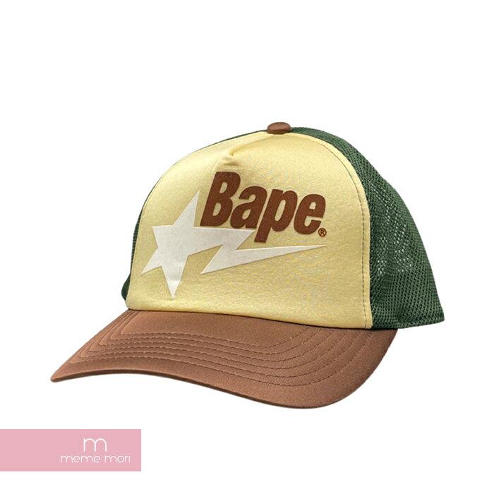 メンズ帽子, キャップ A BATHING APE Bape Sta Mesh Cap 210707-Ame04