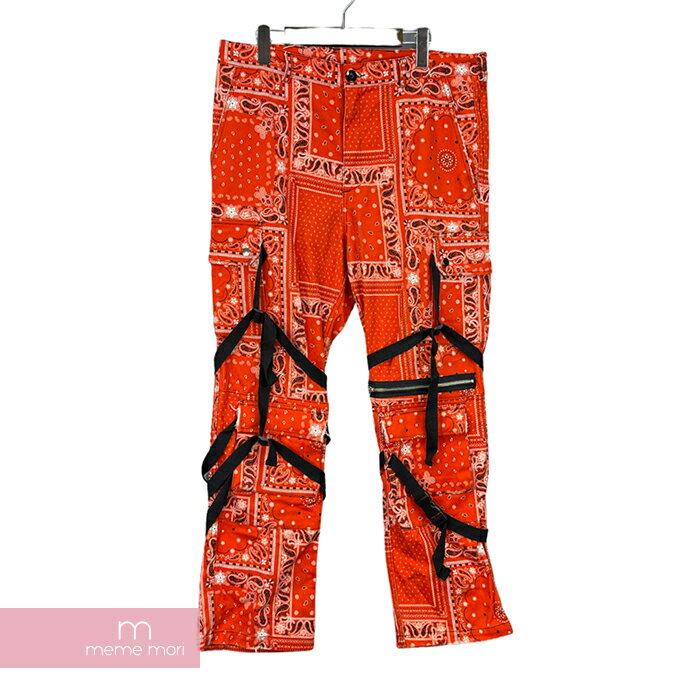 メンズファッション, ズボン・パンツ ROGIC Revenge Gallery 2019SS Paisley Pants L 210821-B