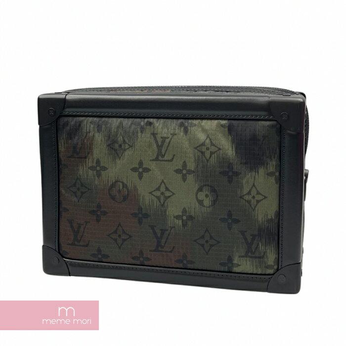 メンズバッグ, クラッチバッグ・セカンドバッグ LOUIS VUITTON 2020AW Soft Trunk camouflage M56428 210905-Ame04