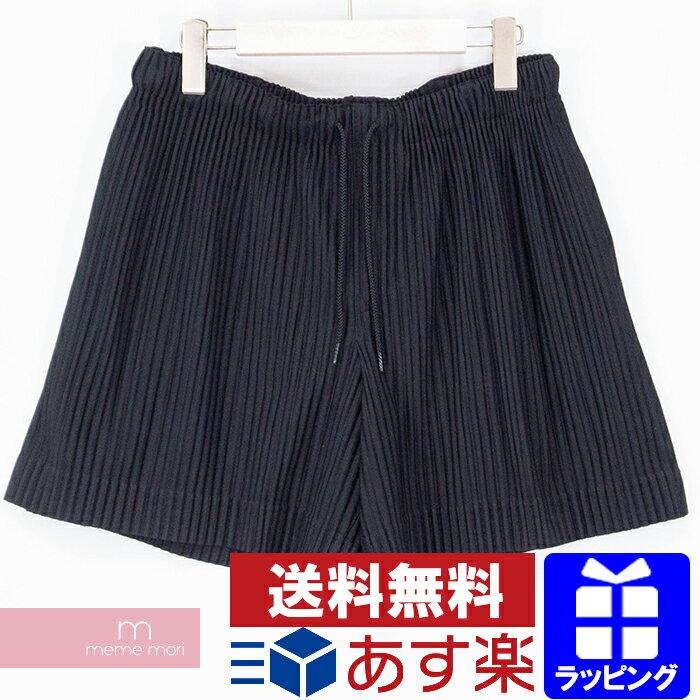 メンズファッション, ズボン・パンツ HOMME PLISSE ISSEY MIYAKE Pleated Short Pants HP96JF143 200826-B