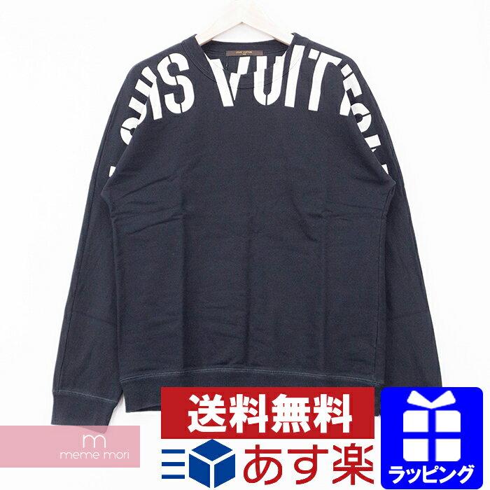 メンズファッション, コート・ジャケット LOUIS VUITTONfragment design 2017AW Logo Crewneck HDY26WJIU M201011-B