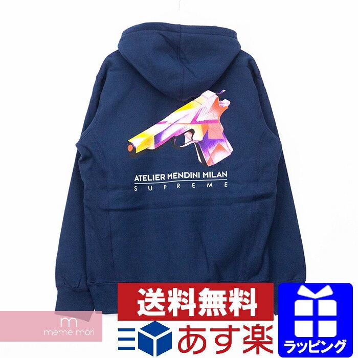 トップス, パーカー SALESupreme 2016SS Mendini Gun Hooded Sweatshirt L 201015me04