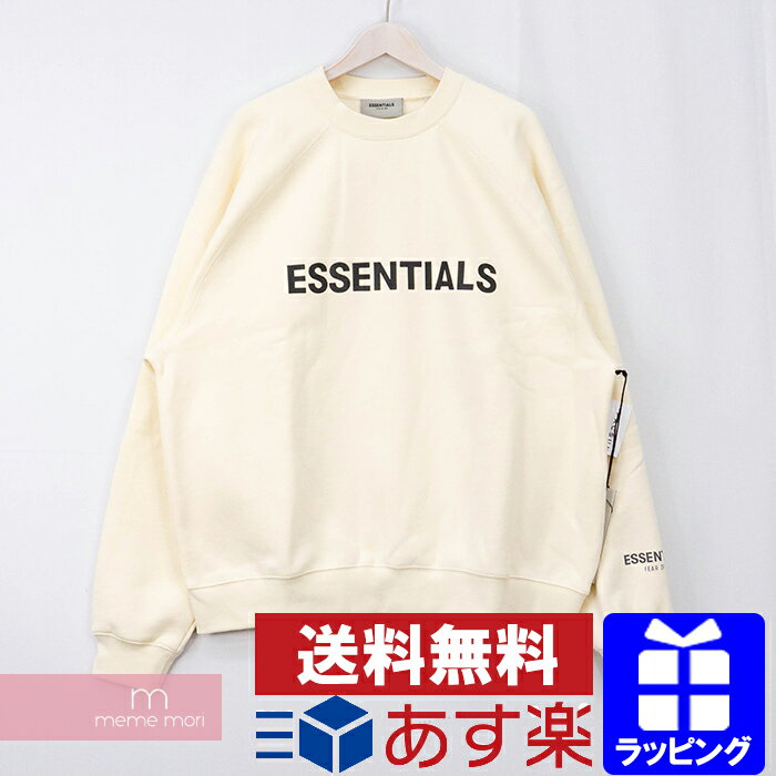 トップス, スウェット・トレーナー FEAR OF GOD ESSENTIALS 2020SS 3D Silicon Applique Crewneck 3D S 201020