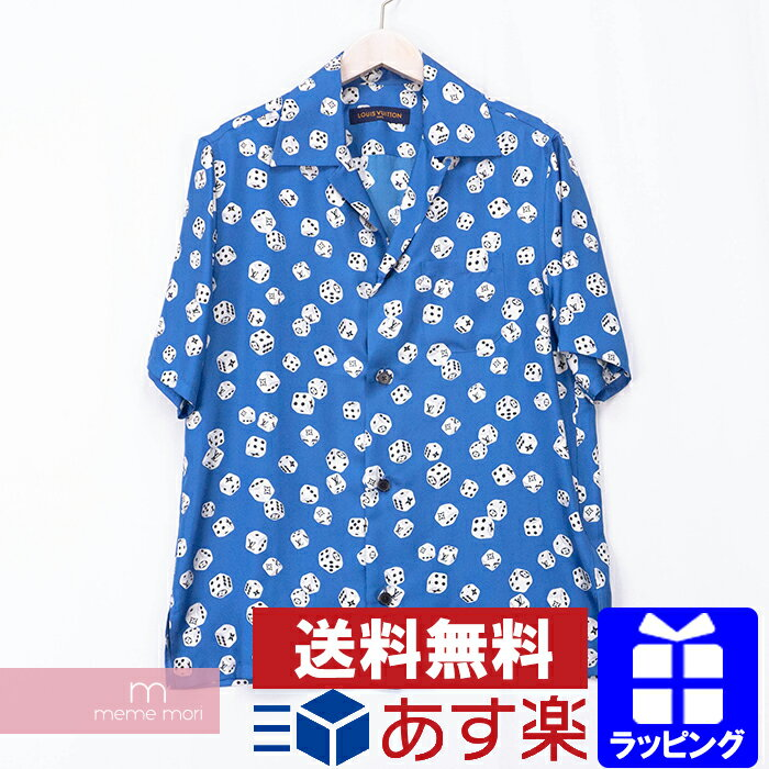 トップス, カジュアルシャツ SPLOUIS VUITTON 2018AW Dice Hawaiian Shirt 1A480O S201021
