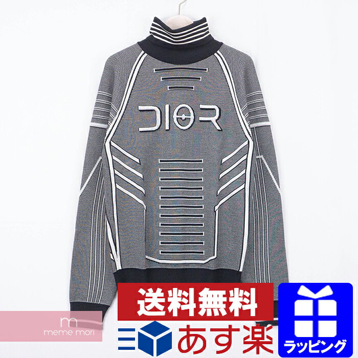 トップス, ニット・セーター Dior 2019AW Technical Wool Turtleneck Sweater 933M620AT969 L 201027