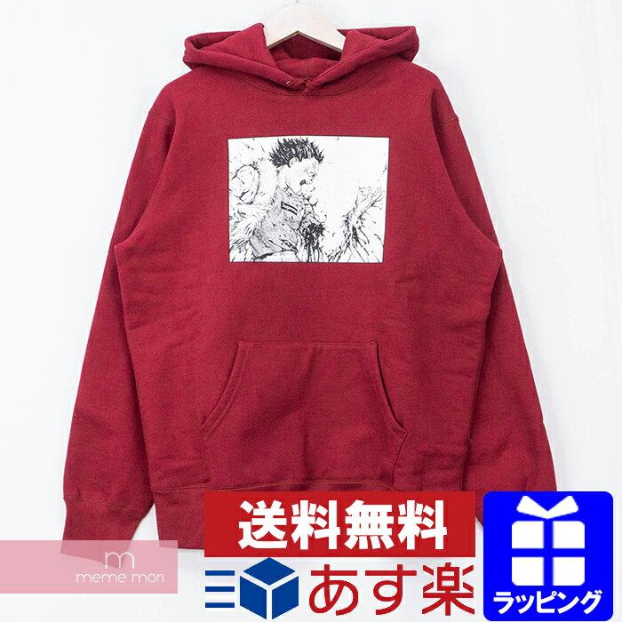 トップス, パーカー SupremeAKIRA 2017AW Arm Hooded Sweatshirt M201120