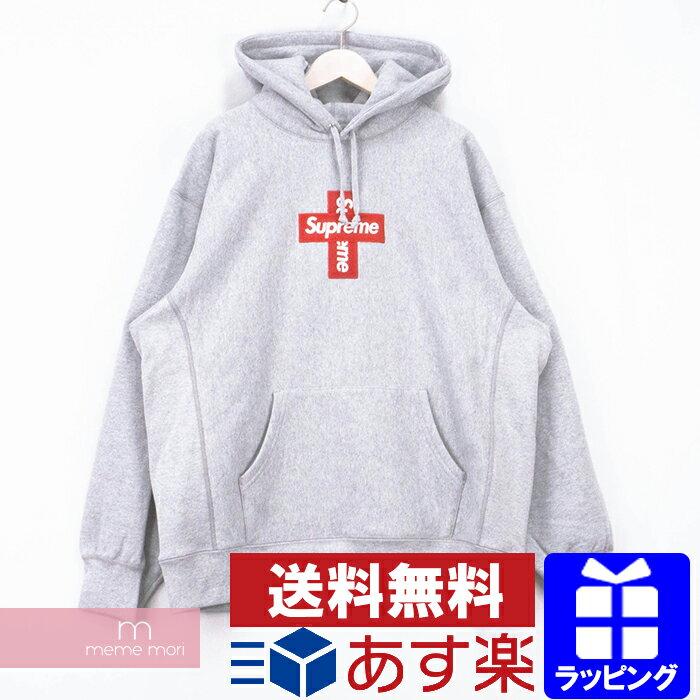 トップス, パーカー Supreme 2020AW Cross Box Logo Hooded Sweatshirt XL201209me04