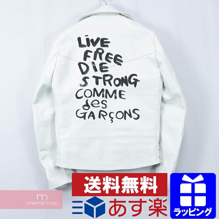 メンズファッション, コート・ジャケット 15OFF P55COMME des GARCONSLewis Leathers LIGHTNING LIVE FREE DIE STORONG KJ-J006 36191202