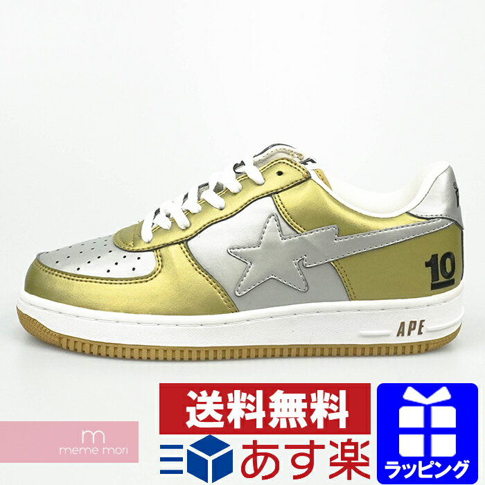 メンズ靴, スニーカー A BATHING APE BAPE STA LOW US10.5(28.5cm) 210213-A