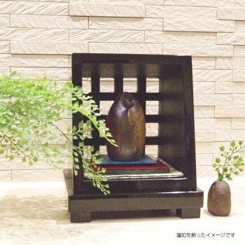 手元供養台手元供養骨壷の厨子型飾り台Bタイプミニ仏壇オープン仏壇花立て付祈りのステージ厨子