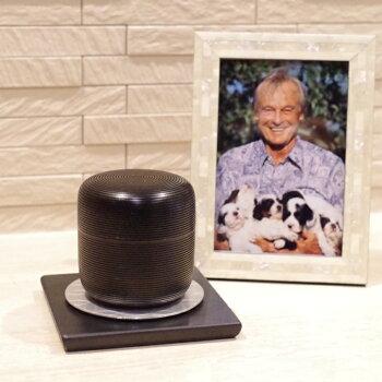 桜木大容量の本漆骨壷「きなりシリーズ」黒スジ名入れ可ミニ骨壷骨壷骨壺手元供養