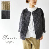 【Fanaka ファナカ】ステッチ ジオメトリック キルティング ショート ジャケット (202-2212)