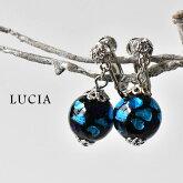 【LUCIA ルチア】ホタルガラス イヤリング
