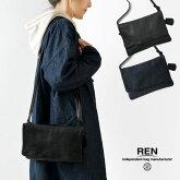 【REN レン】ベア クラッチ ショルダー レザー 2way バッグ Sサイズ (FU-11981)