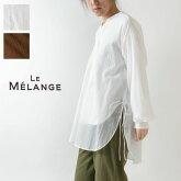 【Le Melange ルメランジュ / ルメランジェ】シアー ブラウス  (6113205)