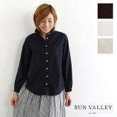 【SUN VALLEY サンバレー】製品染め オックス レギュラー シャツ(skt001006)