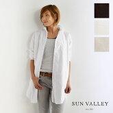 【SUN VALLEY サンバレー】製品染め オックス シャツ チュニック (skt003008)