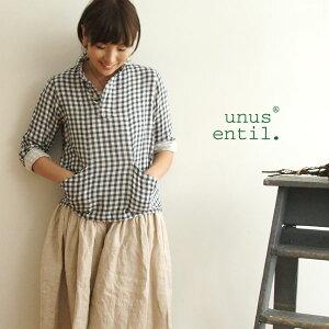 【unus entil ユーナス エンティル】 Wガーゼ マリンカラー プルオーバー(unus_urn06224-4895)【select-shop】【楽ギフ_包装】【あす楽対応】