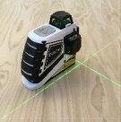 グリーンレーザー水平器12ライン