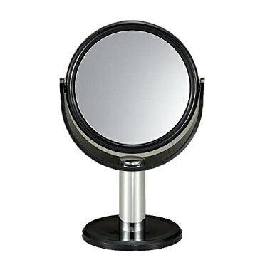 【ポイント5倍】細部までメイクばっちり 10倍拡大鏡付きスタンドミラー