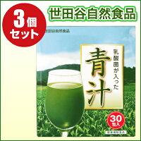 ゴクゴク飲める美味しい青汁世田谷自然食品乳酸菌が入った青汁30包