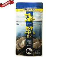 【送料無料】濃縮牡蠣エキス海乳EX62粒DM便