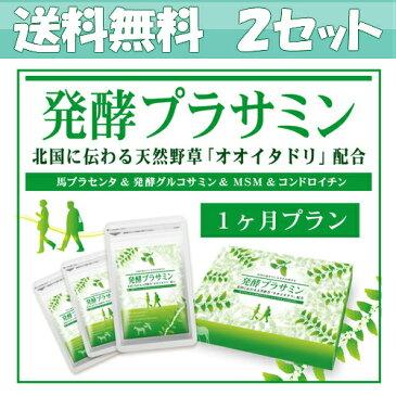 お得な2個セット 発酵プラサミン 80粒×3袋(約1ヶ月分)