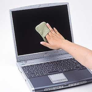 SANWA SUPPLY顯示器保潔墊(綠色)CD-CC23G