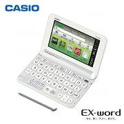 カシオ計算機 エクスワード カラータッチパネル ホワイト
