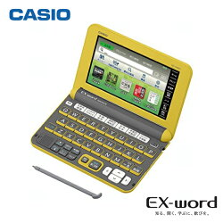 【新品】CASIO【電子辞書】XD-Y4800YWカシオ計算機EX-word(エクスワード)5.3型カラータッチパネル高校生モデルXDY4800YW(イエロー)【smtb-MS】