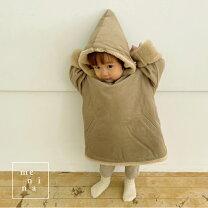 ボアフーディコート小人コート子供服コートお出かけ赤ちゃん