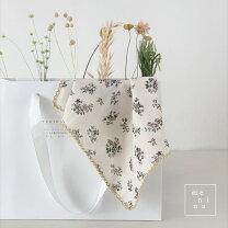 flowersハンカチ