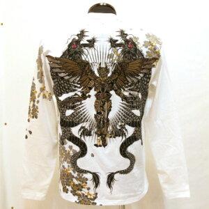 カラーは全2色です!HARAKIRI-ハラキリ-の刺繍とプリントの技術が活かされた人気商品です!和柄...