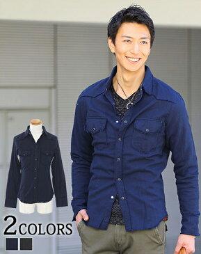 シャツ メンズ ウエスタンシャツ カジュアルシャツ 長袖シャツ カジュアル カジュアルシャツ メンズファッション