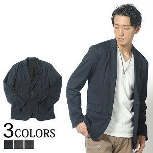 テーラードジャケット メンズ アウター ジャケット 長袖 ストレッチ チェック 服 春服 30代 40代 50代