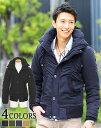 中綿ジャケット スタンドカラー アウター メンズファッション...