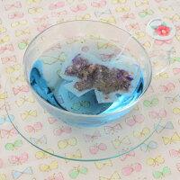 リボンのティーバッグリボン型5個入りハーブティーかわいいプチギフトマロウブルーーレモングラス珍しいギフトお茶会りぼん