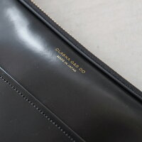 CLASKADOクラスカオリジナルスリッパBANKブラック日本製【ショルダーバッグ斜めがけ軽量小さめ】