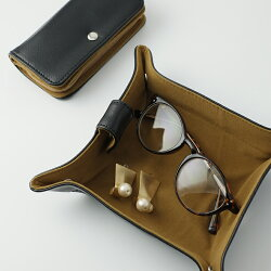 トラベルアクセサリーポーチ【アクセサリージュエリーケースピアスリングネックレス収納携帯用旅行】
