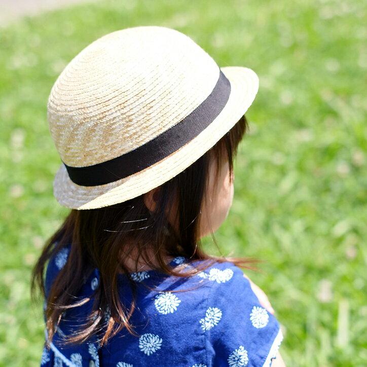 CLASKA クラスカ 麦わら帽子 キッズ 52cm 54cm 子供 チャイルド 帽子 日よけ 男の子 女の子 こども かわいい 入園祝い ギフト プレゼント 埼玉 日本製の写真