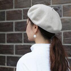 CLASKAクラスカDOドーベレー帽【レディース帽子ウールブラックチャコールグレーベージュ黒灰シンプルおしゃれギフトプレゼント贈り物秋冬日本製国産】