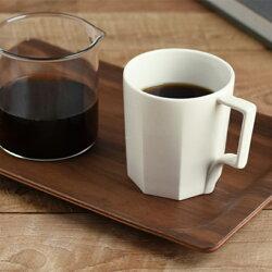 KINTOキントーOCTマグオクト300ml【マグカップカップ陶器磁器白黒ホワイトブラックコーヒーシンプルおしゃれ食洗機対応電子レンジ対応】