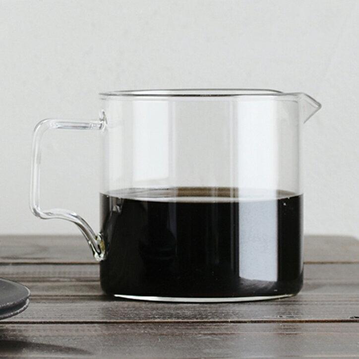 KINTO キントー OCT コーヒージャグ 300ml コーヒーサーバー 目盛り 耐熱ガラス コーヒー シンプル おしゃれ 食洗機対応 電子レンジ対応